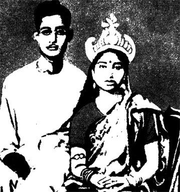 চারুবালা ও তাঁর স্বামী জগদীশ গুপ্ত
