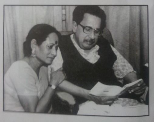 নাজমা আনোয়ারের সাথে।