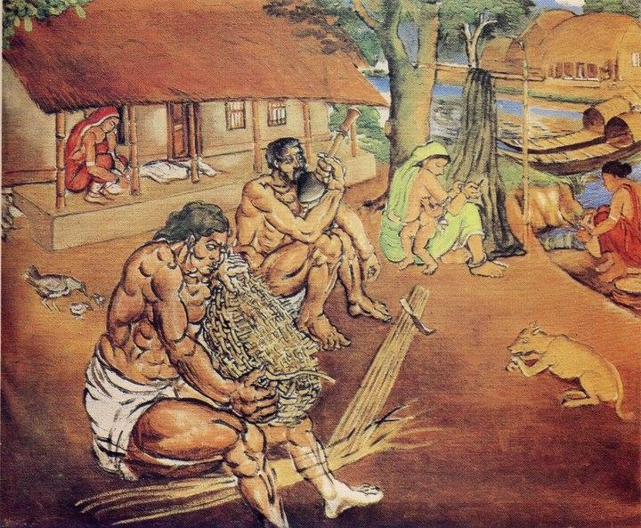 এস এম সুলতানের আঁকা ছবি