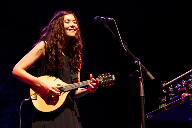 Lisa Hannigan and Friends perform at Queen Elizabeth Hall, part of the Southbank Centre, London. 13th May, 2012.