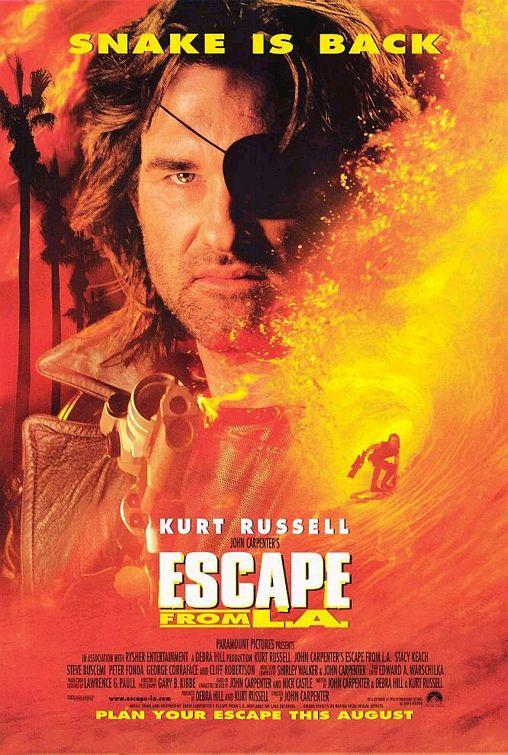 Escape from L.A. সিনেমার পোস্টার