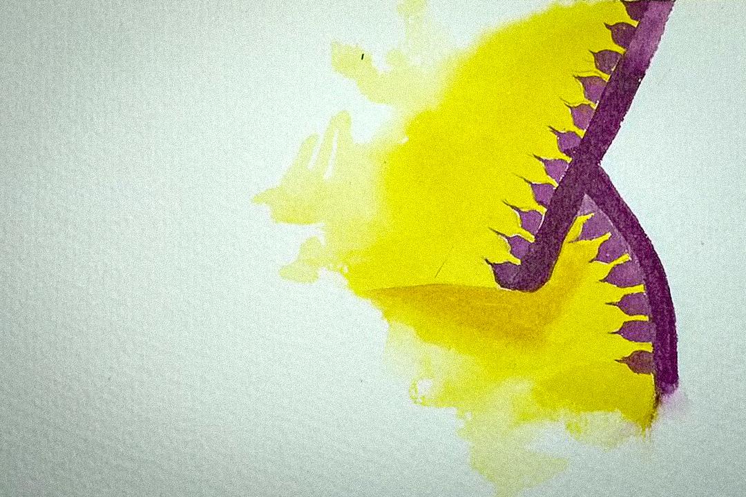 ফনেক। আতিয়া মাইবম-এর আঁকা ছবি।