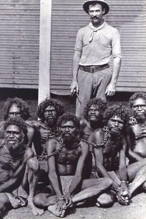 Australia, until 60s, Aborigines came under the Flora And Fauna Act, classified them as animals, not human beings. http://bit.ly/2F9v4qj