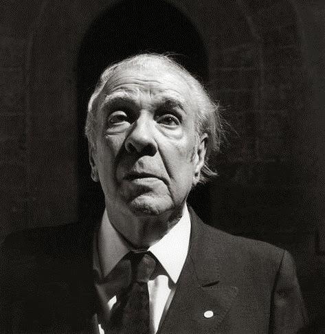 Jorge Luis Borges en Palermo, foto Ferdinando Scianna (1984)03